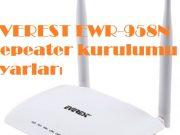 EVEREST EWR-958N Repeater kurulumu ve ayarları