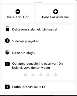 Facebook Watch istediğim videolar çoğalsın ve izleme ayarları