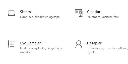 Windows 10 internet Explorer varsayılan tarayıcı yapma