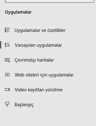 Windows 10 internet Explorer varsayılan yapma