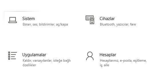 Windows 10 uygulama kaldırma